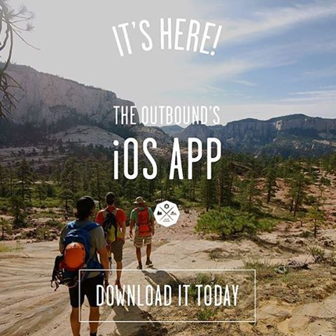 Hello friends and family!  @theoutbound just launched our iOS app and I couldn't be more stoked to share it with you all. If you love the outdoors and want to discover the coolest things to do near you, this little guy will be your new best friend....