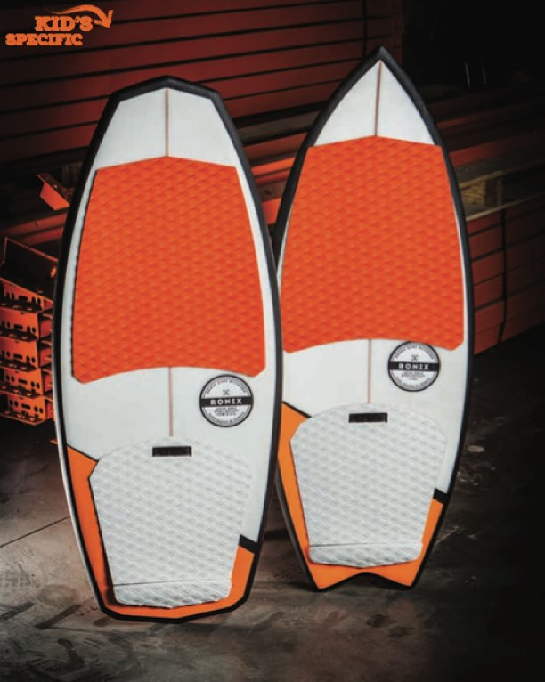 Super Sonic Space Odyssey// Who said Mom and Dad get to have all of the ropeless fun? A new line of surfers giving kids a reason to unite behind the boat. 2 shapes with the same technology as our most popular boards,The Powertail and The Fish, packed...