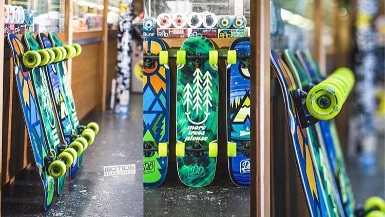 It's not too late support your local skate shop this holiday season! Swing through @motionboardshop and snag one of our Mini Cruisers! #longboard #skateseattle #dbmini #motionboardshop