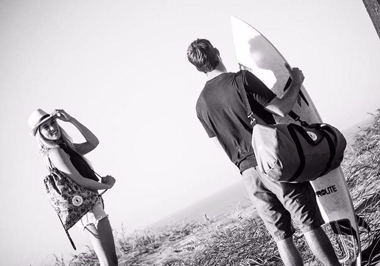 The Golden hour ✨✨#Milhauspop & #bubbabag SHOP ONLINE www.legionextranjera.com.ar #riders#surf#mdq