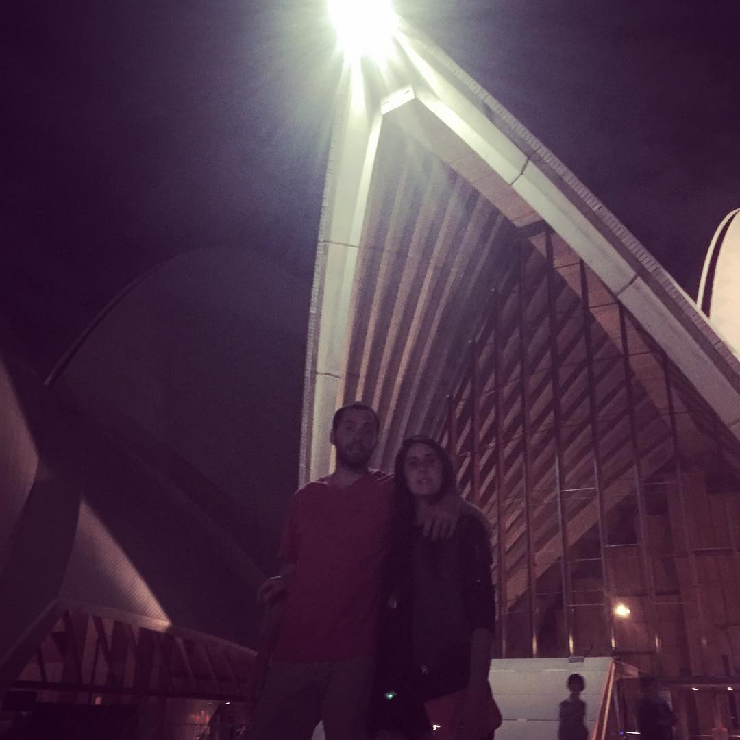 De paseo con una estrella! Cc @nanogonib  #family #australia #trippingmood