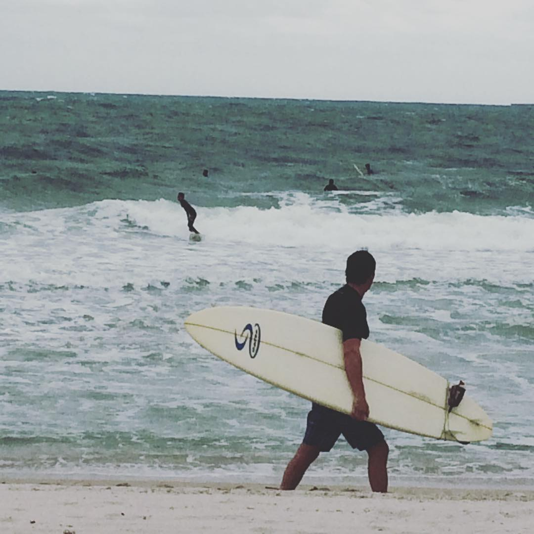 Spreading the #stoke spreading the #surf in #Miami #Surfside #florida #beach #ocean #surfers #ocean #surfboard