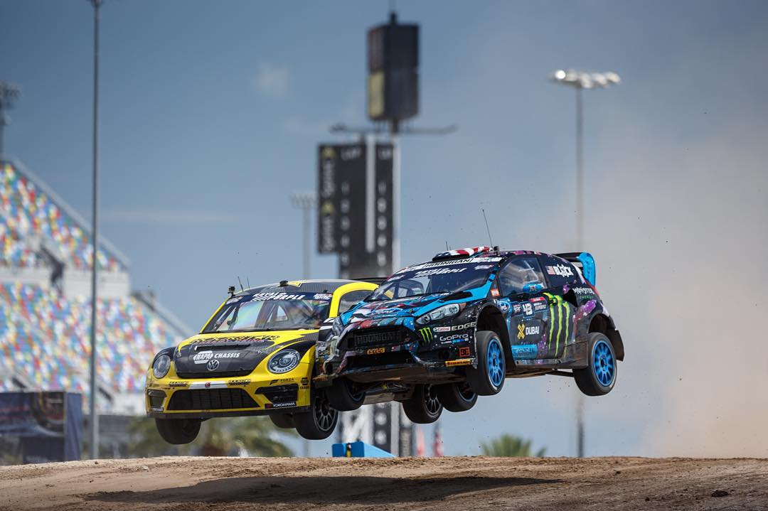 Rubbing is racing. Leave it to @kblock43 and @tannerfoust to take that to the next level.