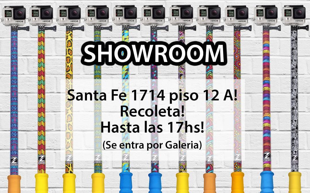 Hoy Showroom hasta las 17hs! Veni a buscar tu #ZephyrPole!