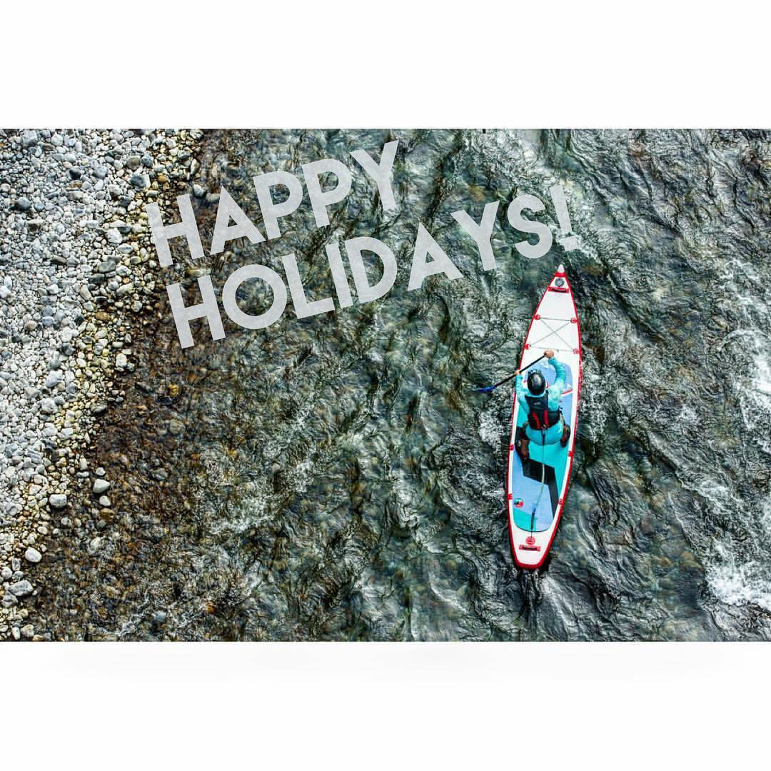Make sure to use the holidays to create happy memories with friends and family! Go out and enjoy the snow, the surf, or the rivers out there! Merry Christmas from all of us at Hala Gear SUP! ☃