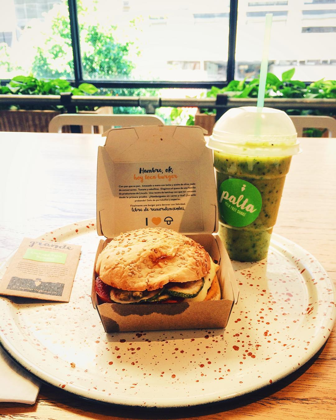 Almuerzo veggie & vegan