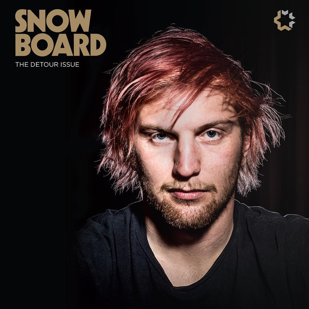 Another cover and this time it's @brodiemitchell on the front of @snowboardermag. @billabong_snowboarding