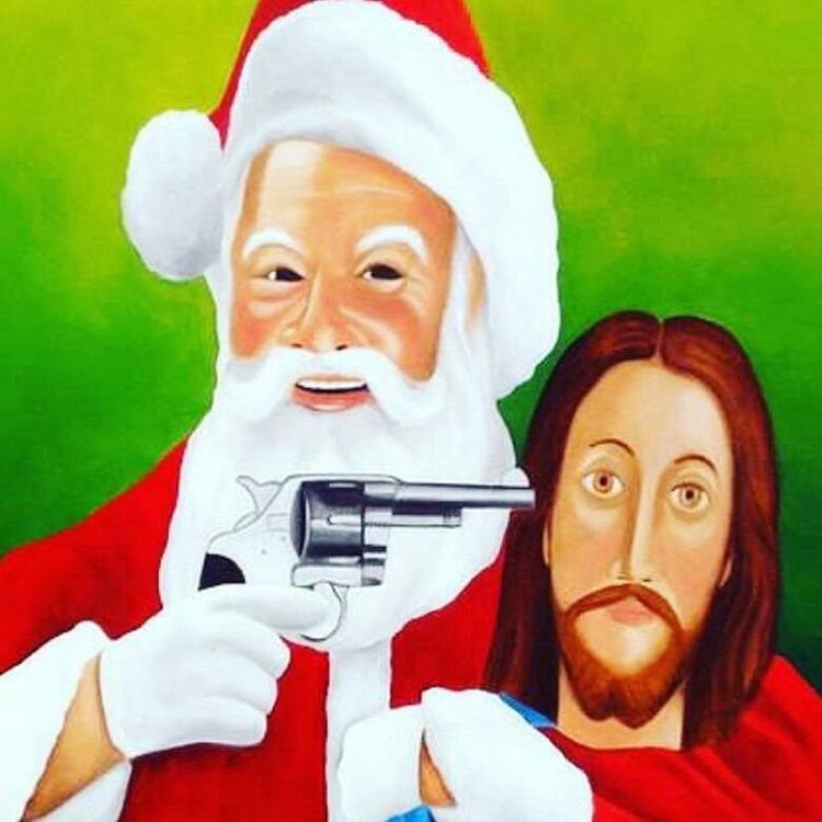 Santa no quiere competencia... #falsanavidad #jahovia