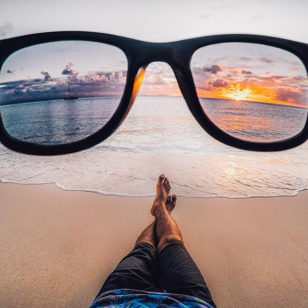 Best of 2015: #6  We have the coolest, most creative content creators on the planet. We loved this original take on a #sunset, and clearly, you did too! #GoProAwards recipient Andre Phillip's photo racked up over 363k likes! Share your candy-colored...