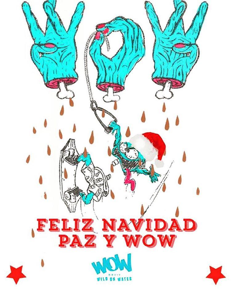 Feliz navidad para todos los #WaterLovers! #wildonwater #lifeisWOW