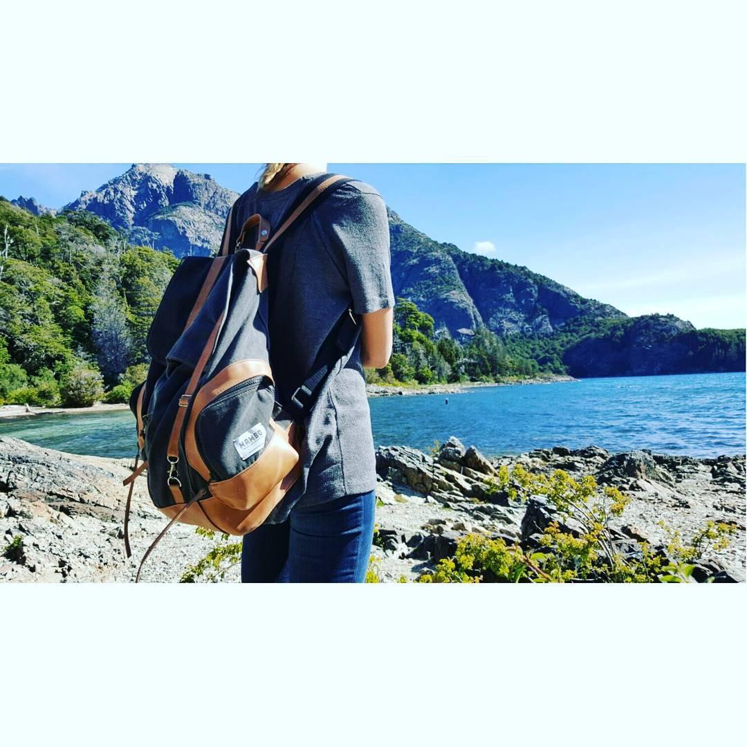 Nuestra junco de vacaciones en la Patagonia.  #vacacionesmambo #backpacks #aroundtheworld