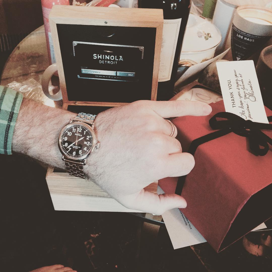 Merry Christmas Baby! @claytonhumphries @shinola #myshinola