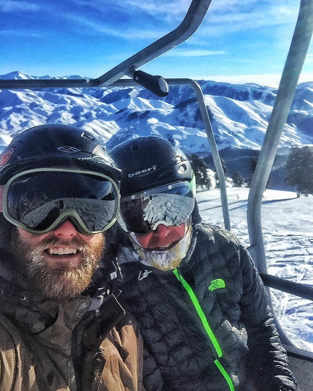 Merry Christmas!! #PHGB Co-founders enjoying a father & son ski day || From our family to yours, happy holidays !!
