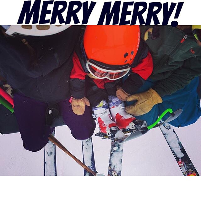 Happy holidays from our family to yours... Merry merry!  Photo: @mophofomo  #PandaPoles #PandaTribe