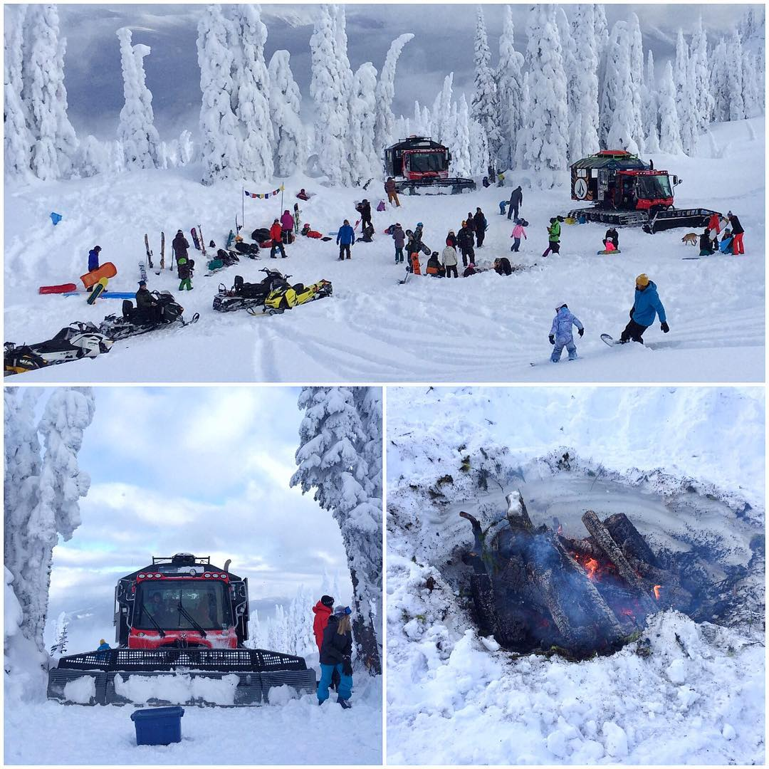A few photos from our Christmas family & friends shred, sled and bonfire afternoon here at @BladfaceLodge. #christmasshred