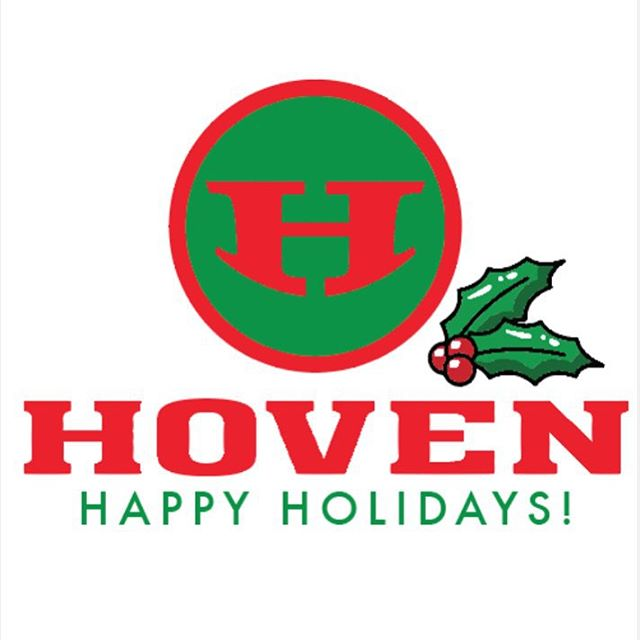 The @hovenvision family wishes everyone the happiest of holidays! We thank you for all the continued love and support this year ❄️☃
