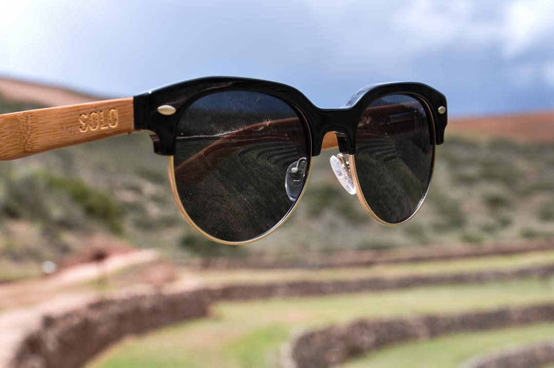 The new Trinidad frame is already making its way around the world! #Peru  Photo Credit: @jack_porter_  #soloeyewear #liveandgive