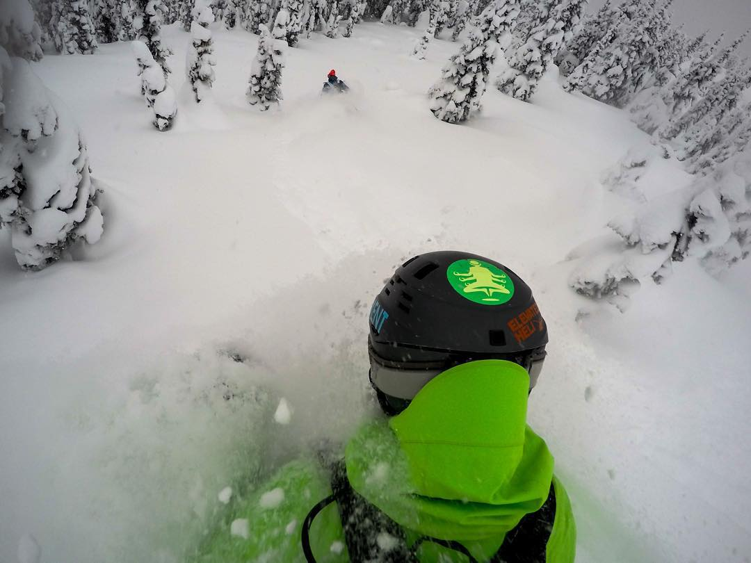 GoPro Featured Photographer - @clarkfyans  About the Shot: Pow Line Reverse - Not many things are better than ripping powder lines through the trees with your good friends!  Headed out to a spot in British Columbia, Canada with friends...