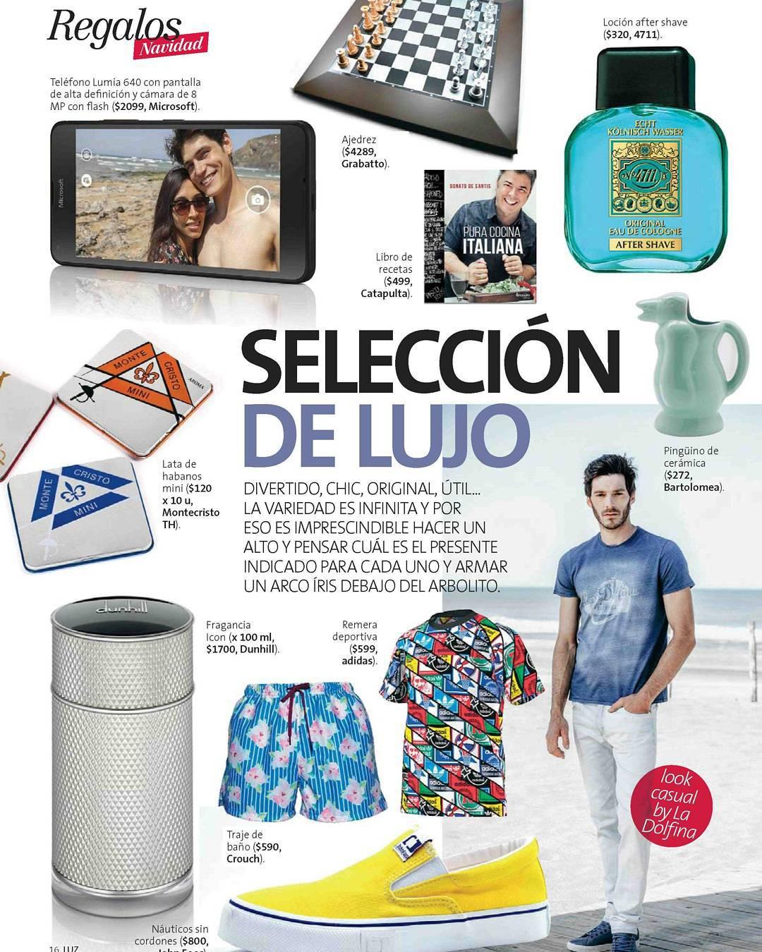 Este mes, salimos en Revista LUZ junto a grandes marcas. ¡Muchas gracias!
