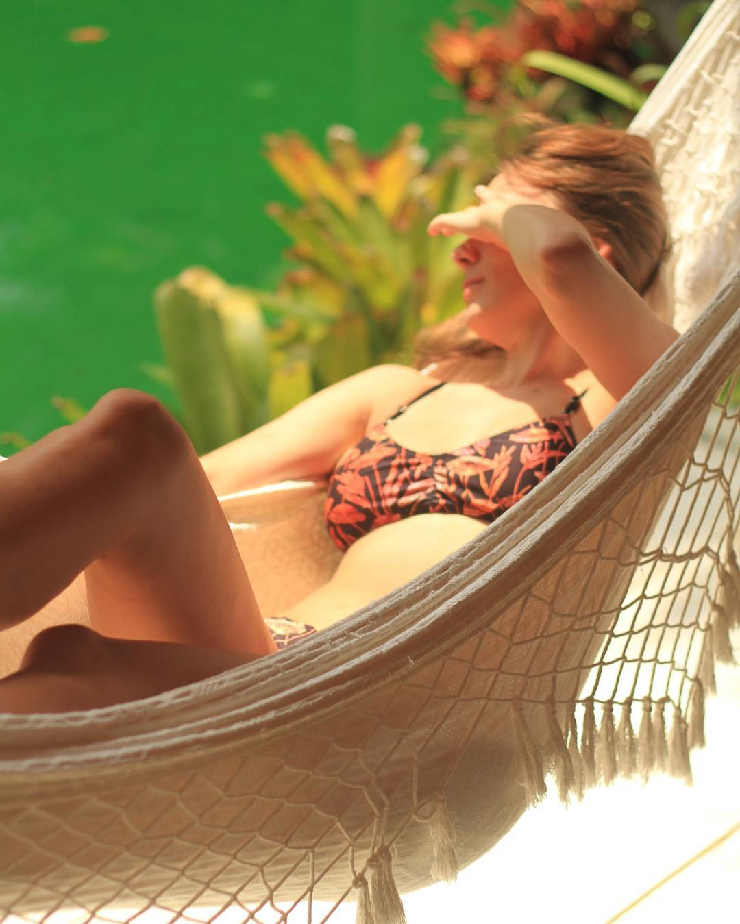 Chill in a hammock #katwai #swimwear #beachlife #brasil