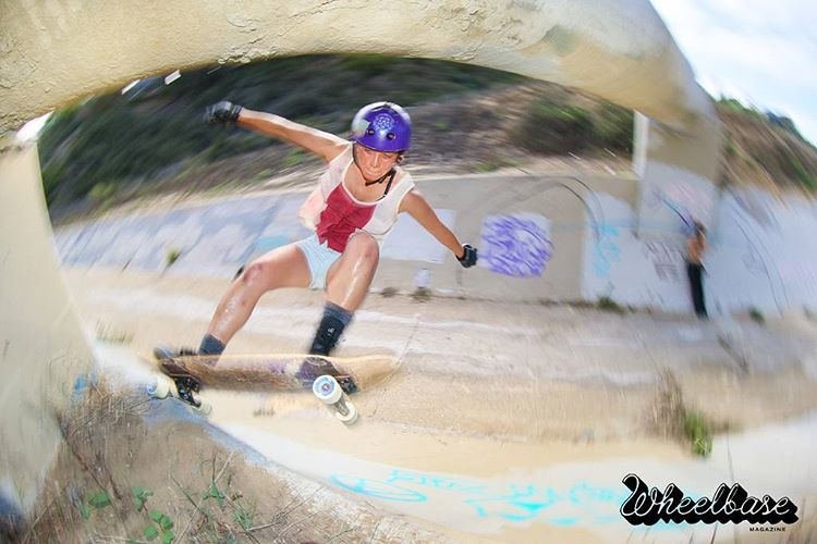 Team rider Yvonne Byers--@yvonzing terra surfing in SoCal!