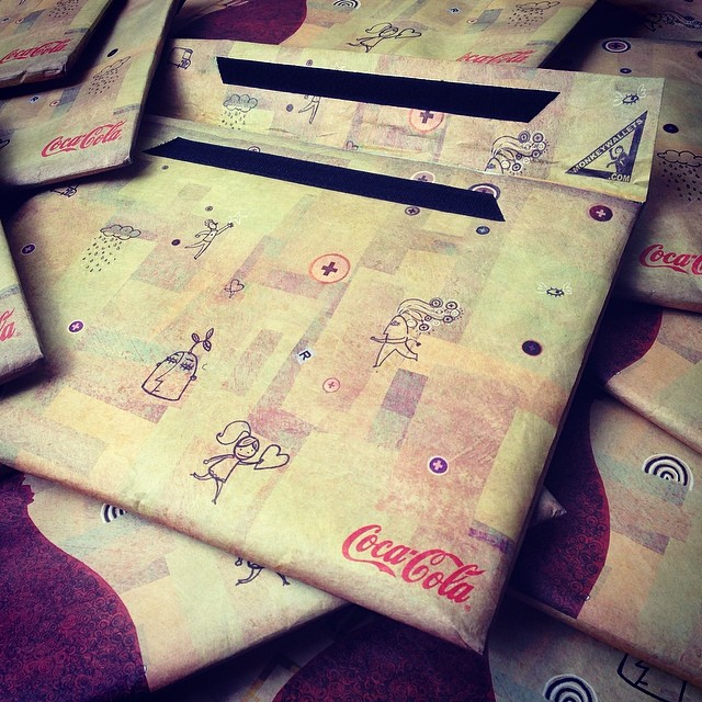 #monkeywallets #cocacola #notebook #case @monkeywallets