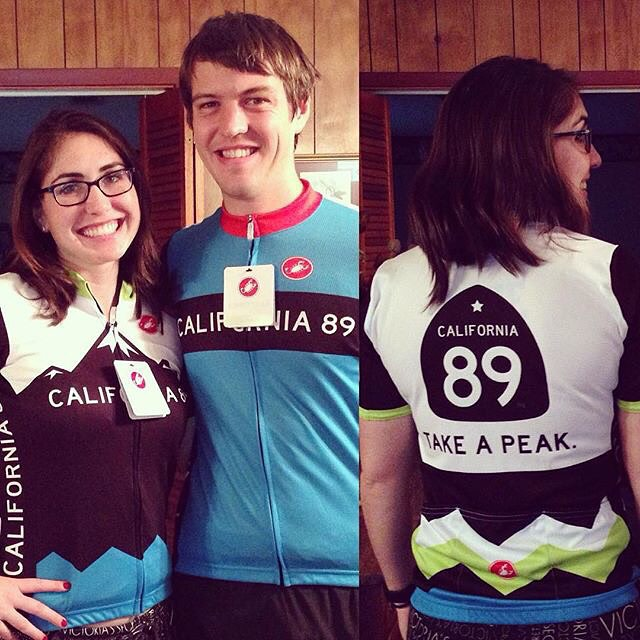 @jlockfitness modeling new bike jerseys! Did you get California 89 for Christmas this year? Show us by tagging #CA89!