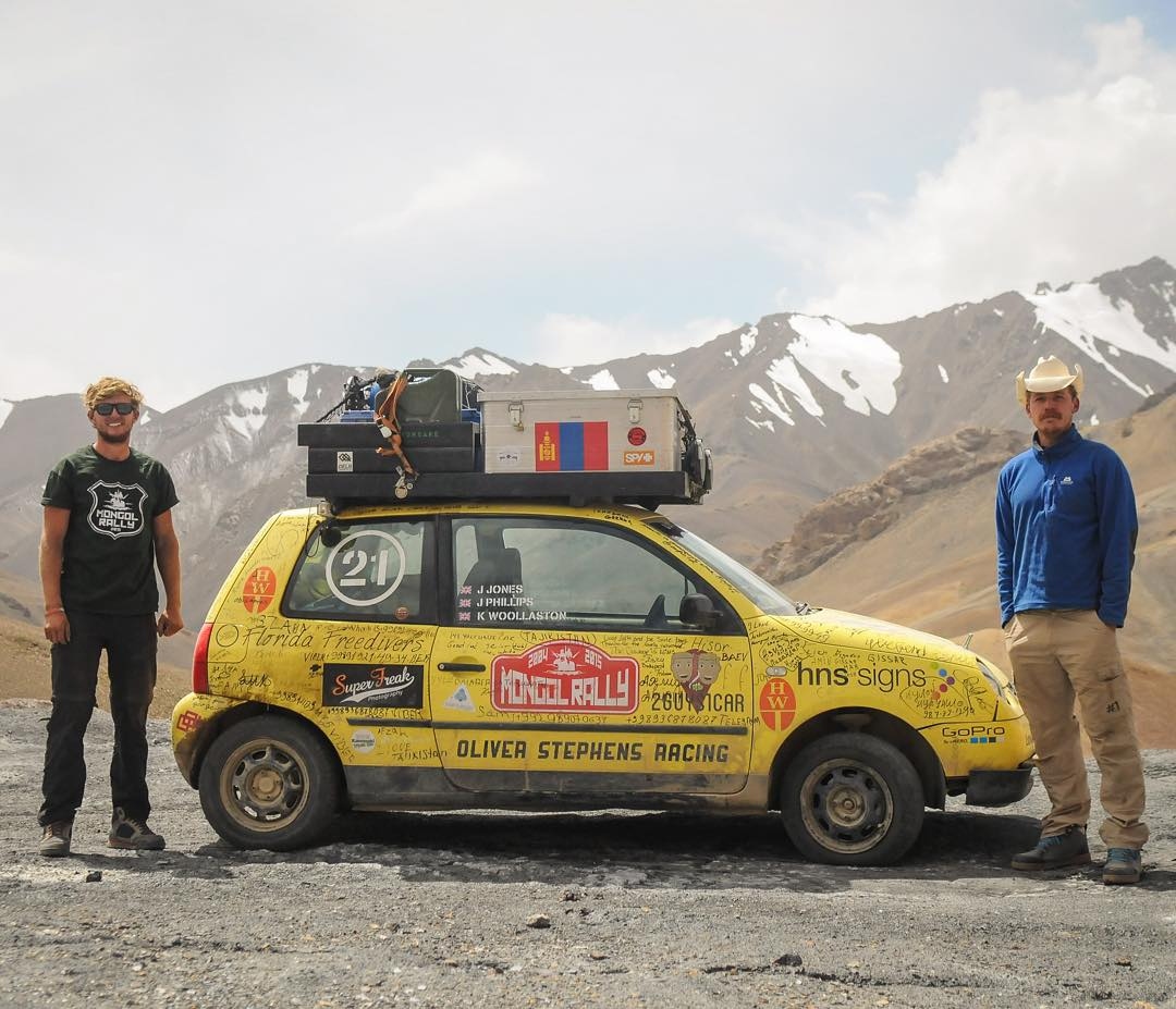 This is a tale of two best friends, a photographer, and an epic journey through 18 countries in a VW Lupo.