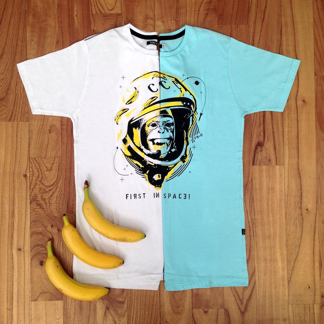 #summer #remera #monkey #banana