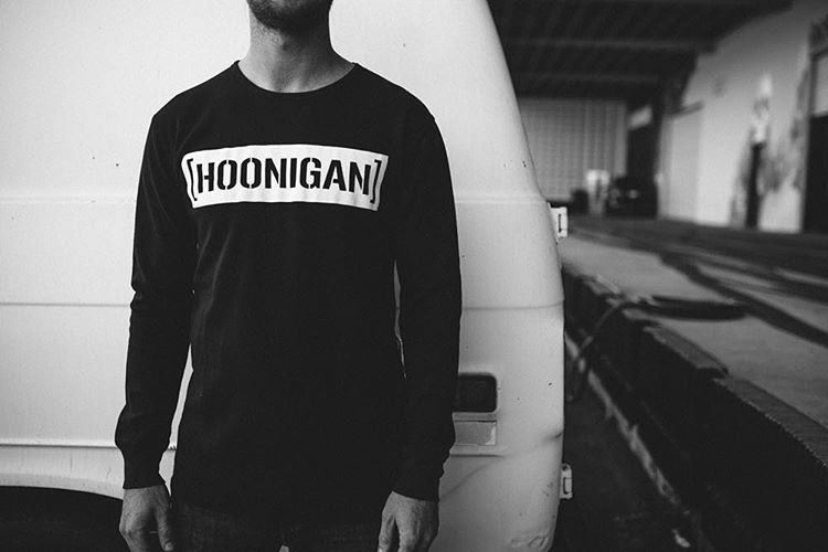 The HNGN C-bar is available on a long sleeve thermal! Get yours on #hooniganDOTcom and remember, SPEND $50 AND GET 20 BUCKS TOWARDS YOUR NEXT PURCHASE. Thats for a limited time only, so don't wait.