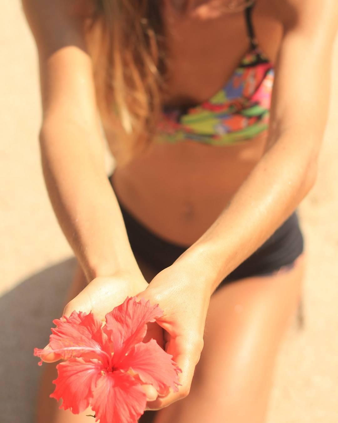 Nature inspires#katwai #swimwear #summer #flowers