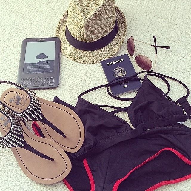 All packed for Costa Rica. #springbreak #miola #beach #costarica #vacation