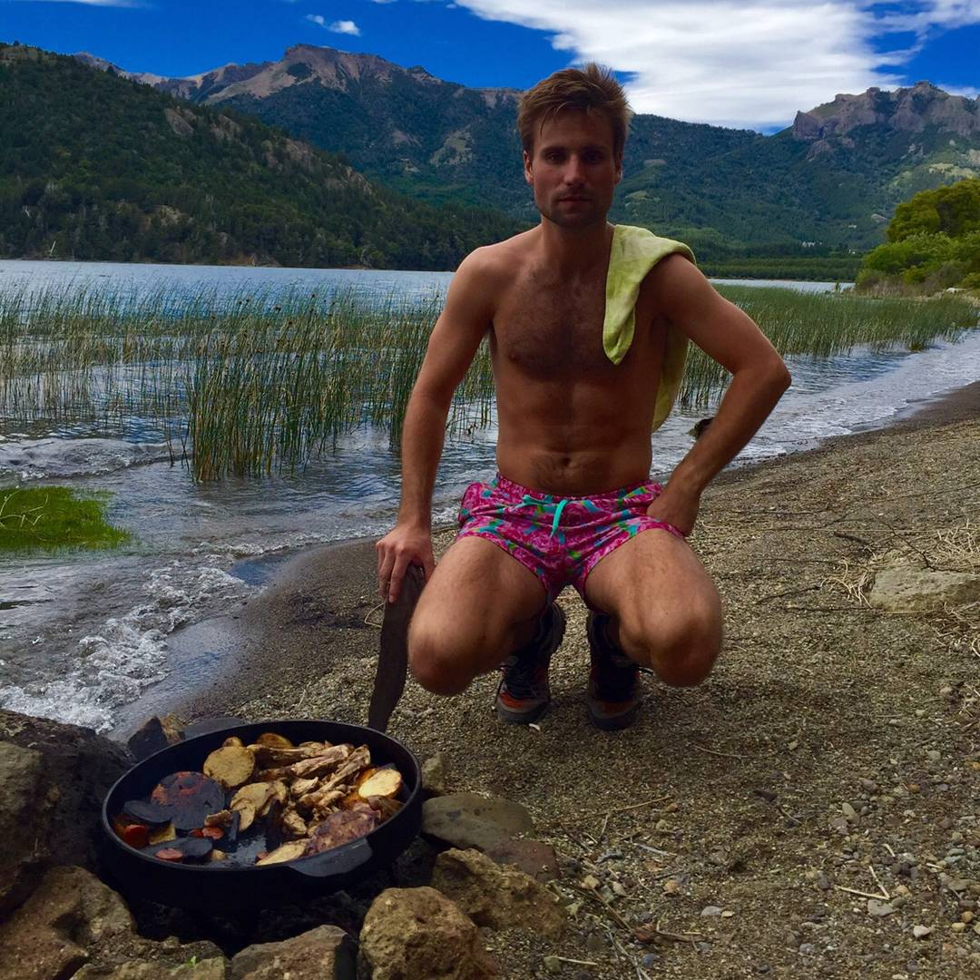 Trucha patagonica con papas rusticas al disco por @tomaszanfrini .... @francismallmann si estas cerca venite que hay platos para lavar