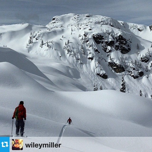 @kyepetersen @eric_hjorleifson @wileymiller | good times chasing lines last week with the crew #riderowned