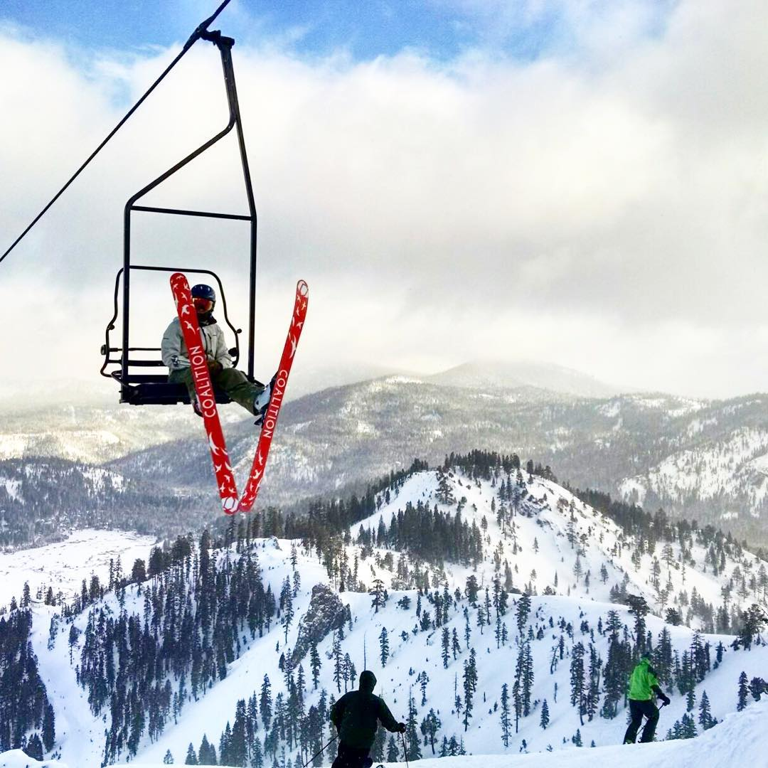 Go ride a chairlift.