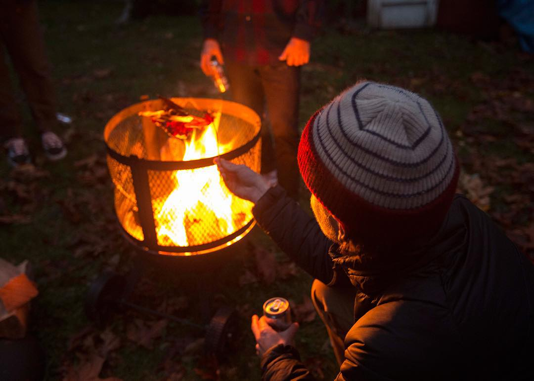 Here is #coalheadwear ambassador @calezima dreaming of roasting chestnuts over an open fire.