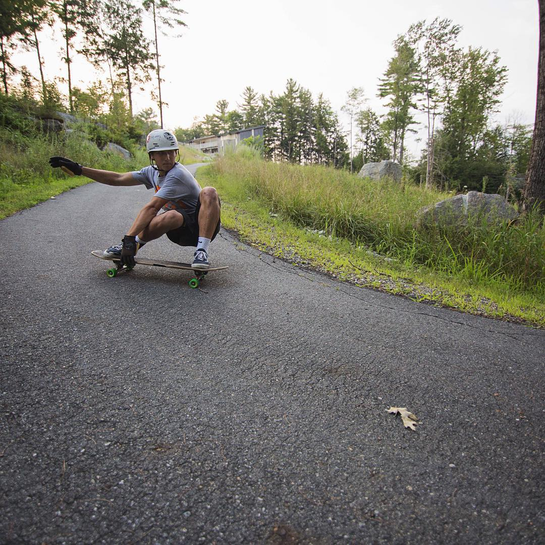 Safety first. Joey Exton (@joey_exton) straps in and holds on for this switch check. Getting low and riding it out on a sweet summer day awhile back.  #divinewheelco #divinewheels