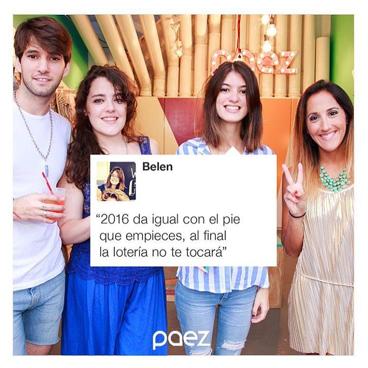 #indeed #Paez  #paezfromtheinside  #Hola2016  Paez.com/paez.com.ar