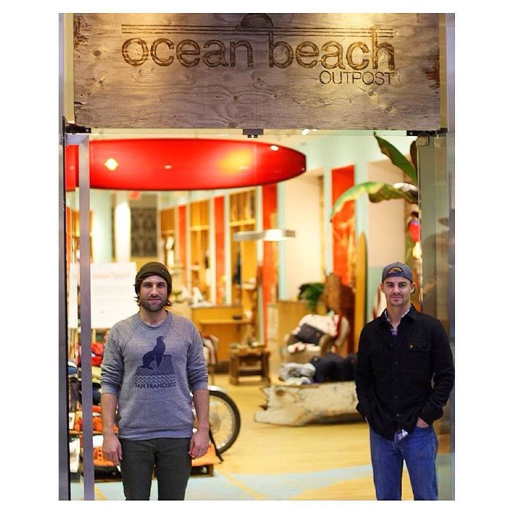 Meet the co-founders of @oceanbeachoutpost Kyle Parsons of @indosole & Hans Geiszler of @japhysurfco.