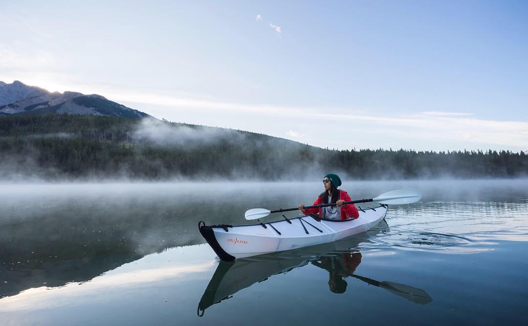 Foggy Canadian morning featuring @tiffpenguin #NatureOfProof Photo by @jonathanbasiago