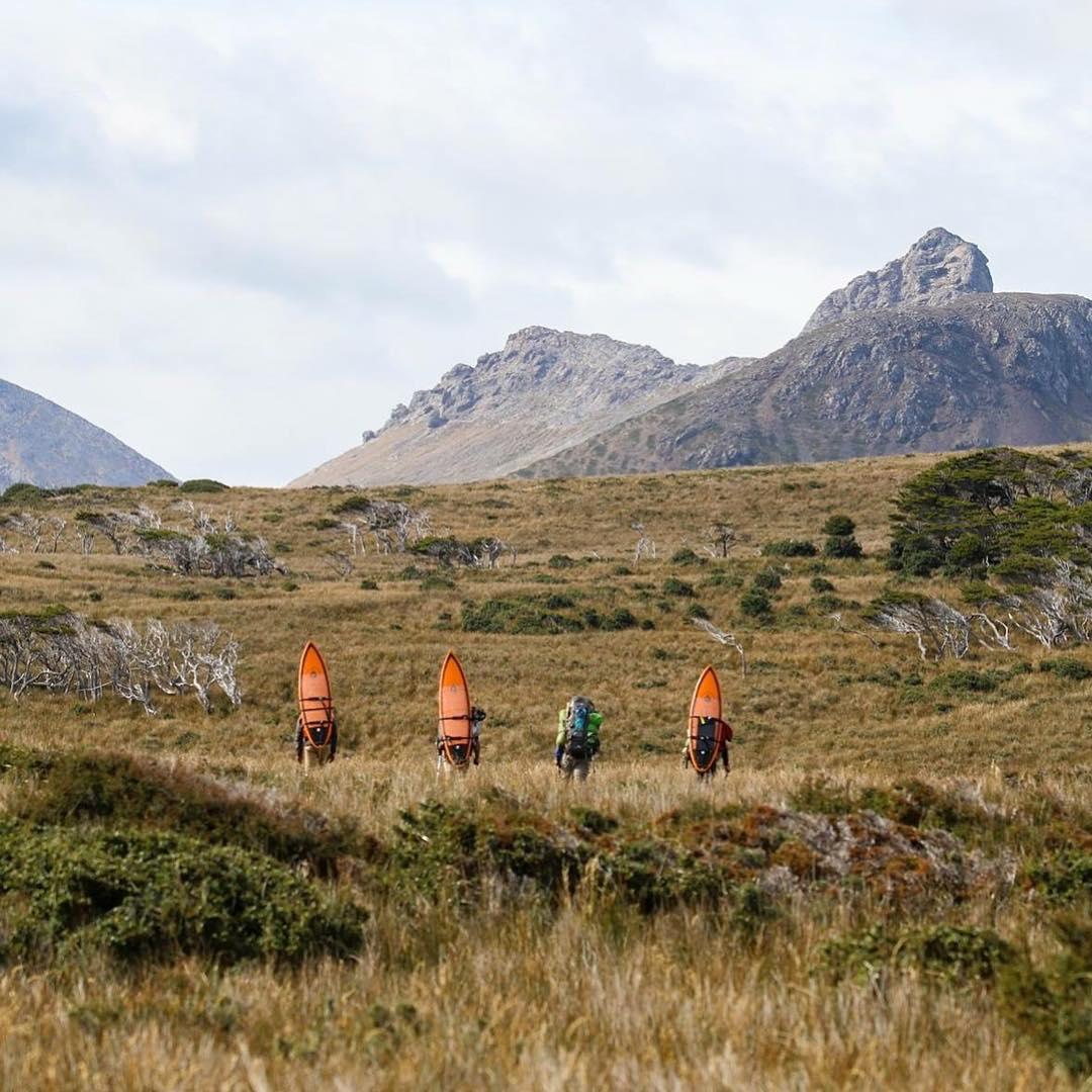 Así comenzaba el ascenso a los cerros más altos de Peninsula Mitre. #peninsulamitre #tierradelfuego #conservemos