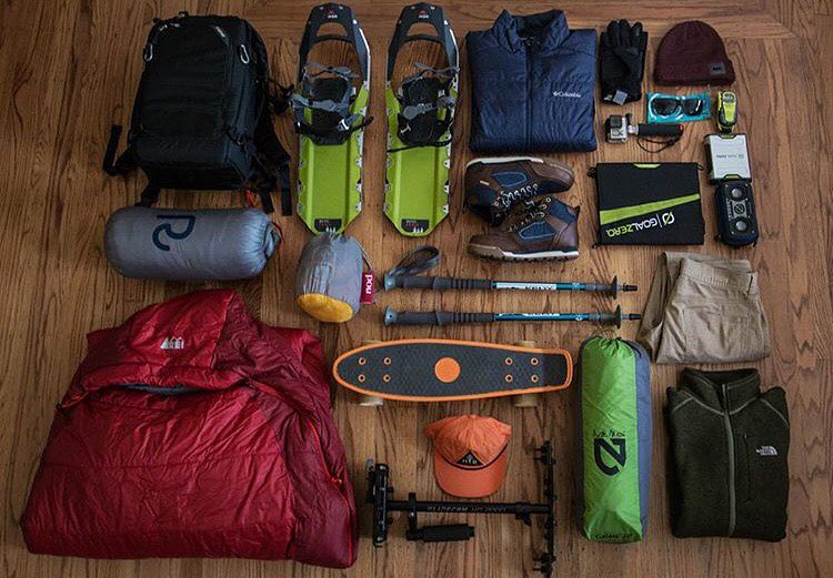 @joseromero93 is all geared of for a winter adventure in Yosemite. Great looking kit!