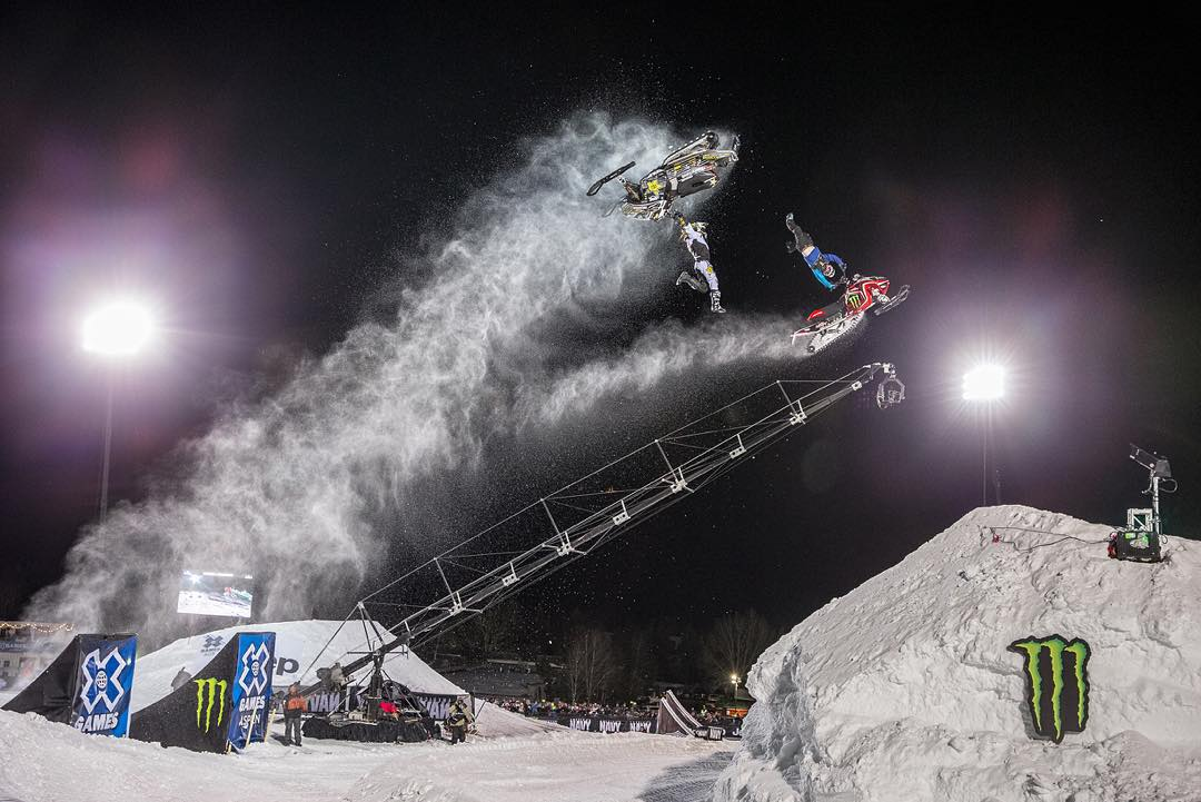 The best show on snow is only 30 days away! #XGames