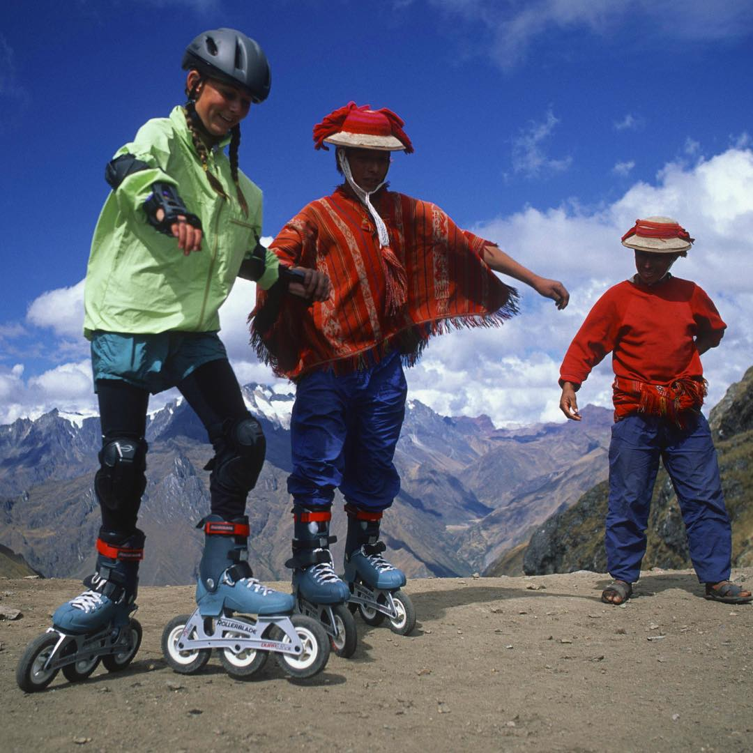 When I was about 12 my wild explorer parents thought it was about time we Rollerblade the Inca Trail to Machu Picchu. Promising Rollerblade that we would get photos of their new off road wheels, we set off through the majestic Andes. When I was little,...