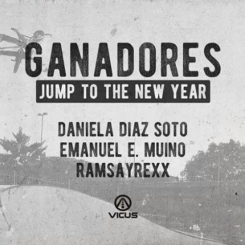 Felicitaciones a los ganadores de nuestro sorteo JUMP TO THE NEW YEAR!