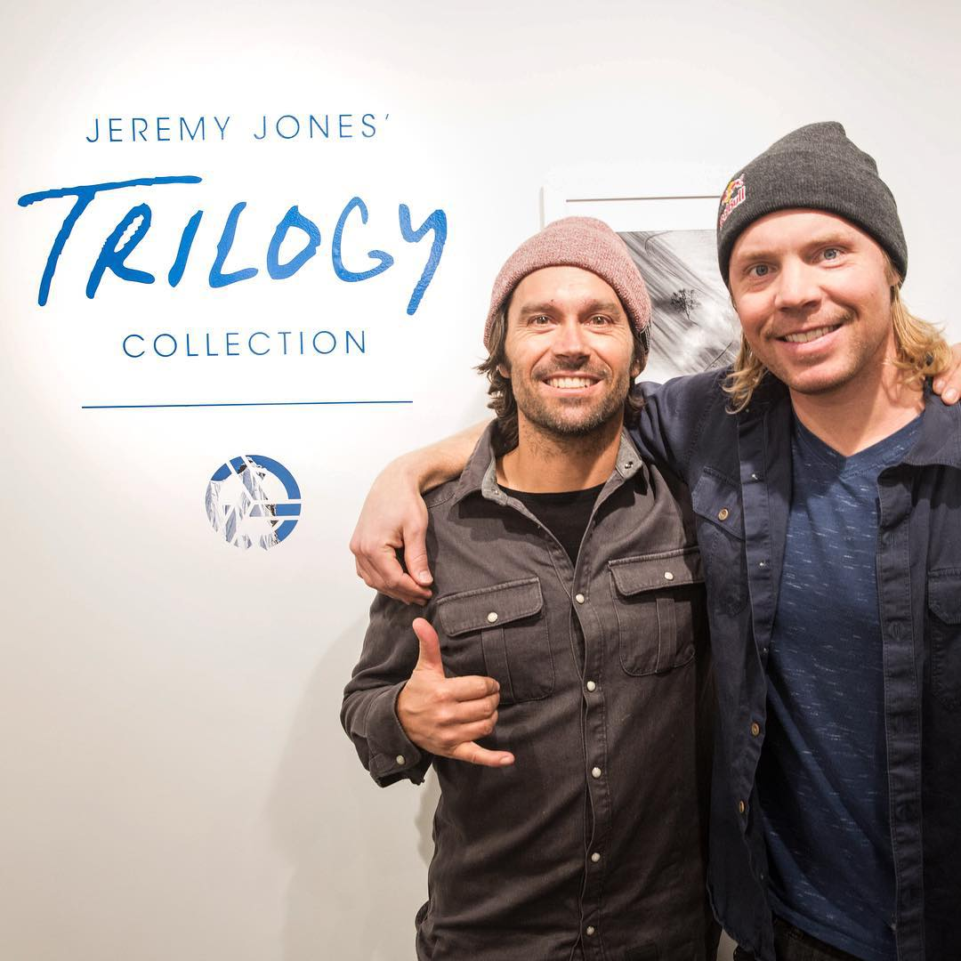 Come in to the gallery or go to Asymbol.co to take a look at the new Trilogy Collection. Cop a print while you're at it. #tetongravityresearch #trilogycollection #travisrice #jeremyjones