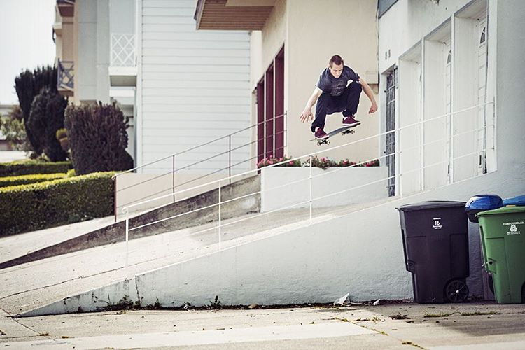 another best of 2015 from @westgatebrandon, here he blasts a frontside 180 over a tall bar in SF >>>