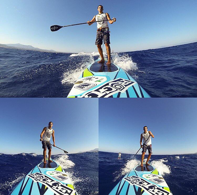 Downwind fun with @doginhodajohnysilva. #roguesup #sup #downwind #standuppaddle