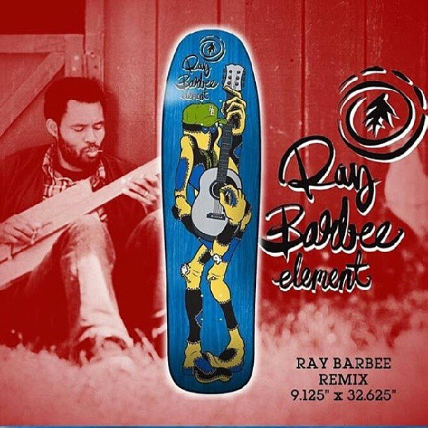 """pool shape. #Element #RayBarbee Remix 9.125"""" is an old school rendition of the classic Ray Barbee Ragdoll Deck.UU1"""