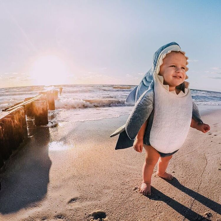 Best of 2015: #1  We're always stoked for #Sharkweek (you were too!) so when @abc4explore shared this photo of his son Ace we knew that our community would swoon. Beach + sunset + kid = epic cuteness. It was too good. To-date, this little #shark bait...